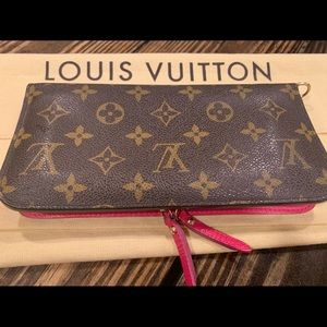 Authentic LOUIS VUITTON Insolite Monogram Wallet